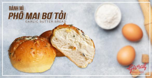 Bánh Mì Phô Mai Bơ Tỏi - Thơm Ngon Khó Cưỡng