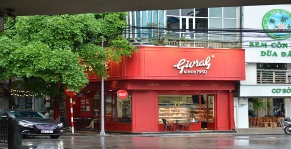 Givral Hà Nội khai trương cửa hàng thứ 2 trên phố Nguyễn Hữu Huân