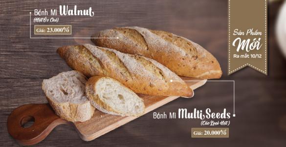 Bánh Mì Hạt Givral - Giàu Thơm Dưỡng Chất
