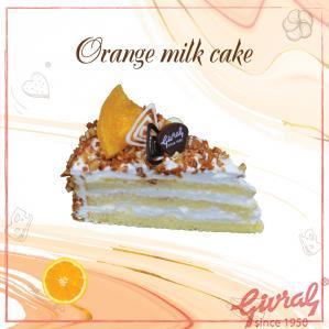Orange Milk Cake  - M