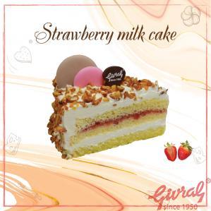 Strawberry Milk Cake - M