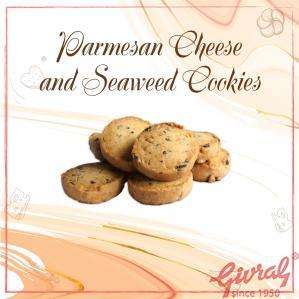 Parmesan Cheese and Seaweed Cookies