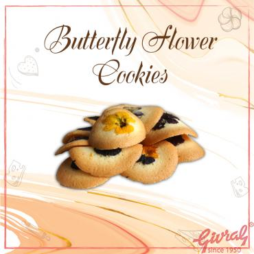 Butterfly Flower Cookies