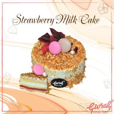 Strawberry Milk Cake - Ổ (Số 0)