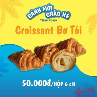 Croissant Bơ Tỏi