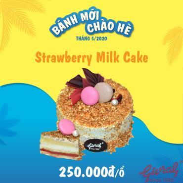 Strawberry Milk Cake - Số 0