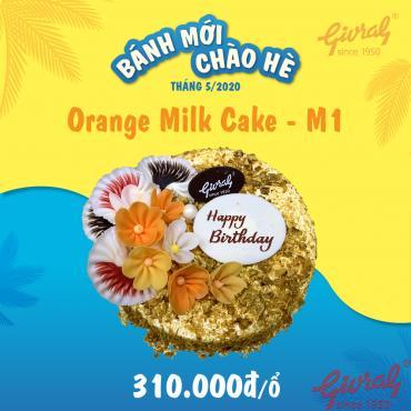 Orange Milk Cake M1 - Số 0