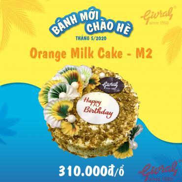 Orange Milk Cake M2 - Số 0