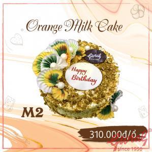 Orange Milk Cake M2 - Ổ