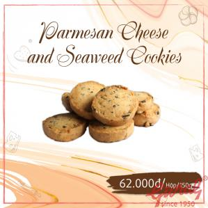Parmesan Cheese and Seaweed Cookies