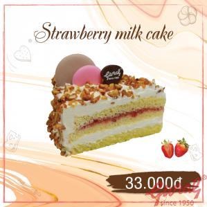 Strawberry Milk Cake - M