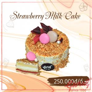 Strawberry Milk Cake - Ổ