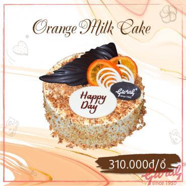 Orange Milk Cake - Ổ