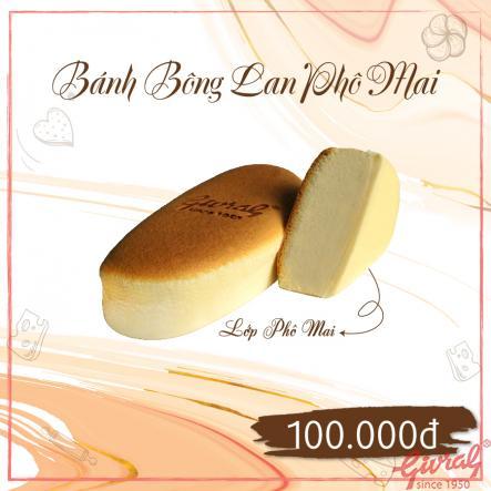Bánh Bông Lan Phô Mai