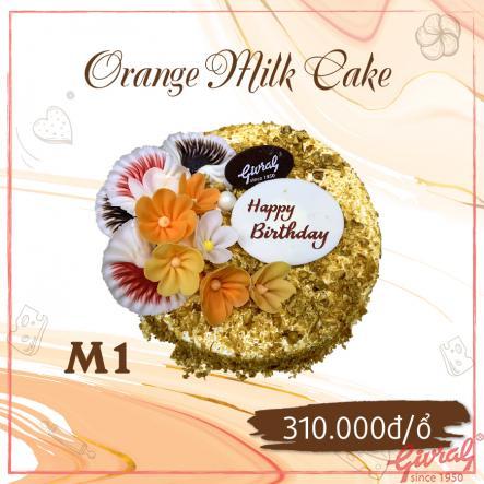 Orange Milk Cake M1 - Ổ