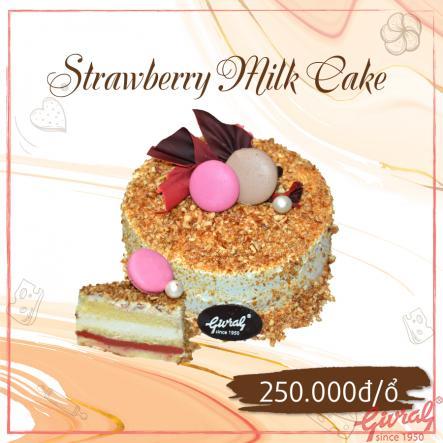 Strawberry Milk Cake - Ổ