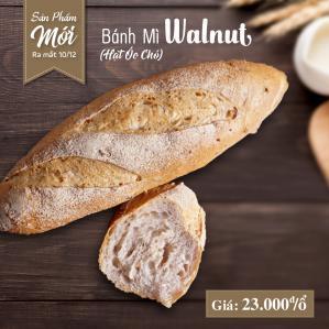 Bánh mì Walnut (Hạt óc chó)