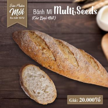 Bánh mì Multi Seeds (Các Loại Hạt)
