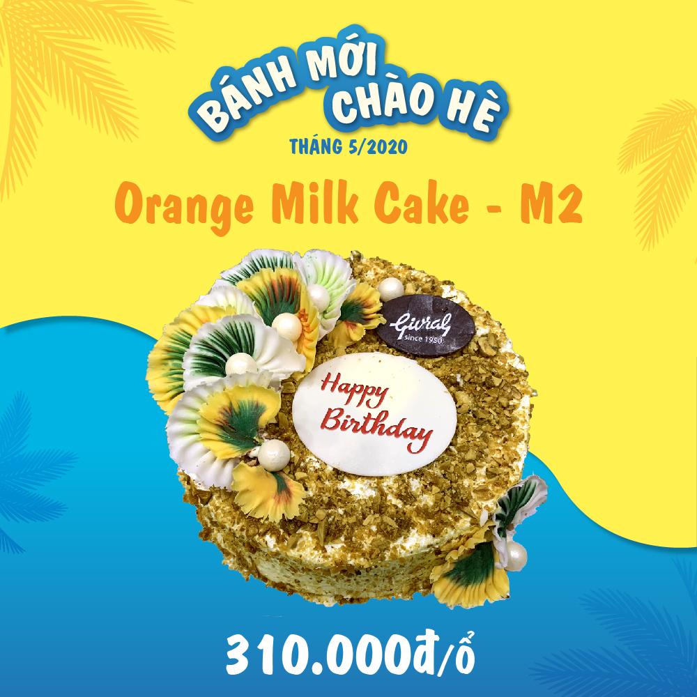 Orange Milk Cake - M2